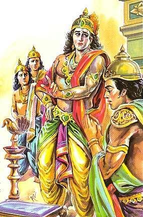 Scene -1 Rama with Brothers