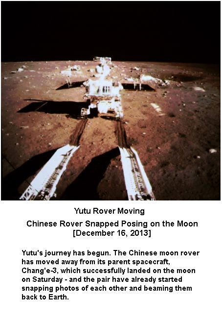Yutu is moving