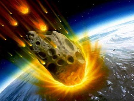 Asteroid impact on Earth -1