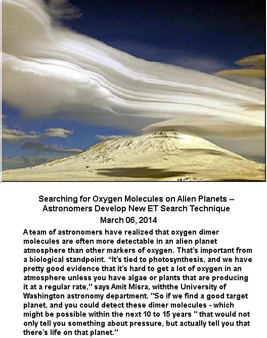 Oxygen molecles