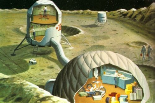 Moon Control centre