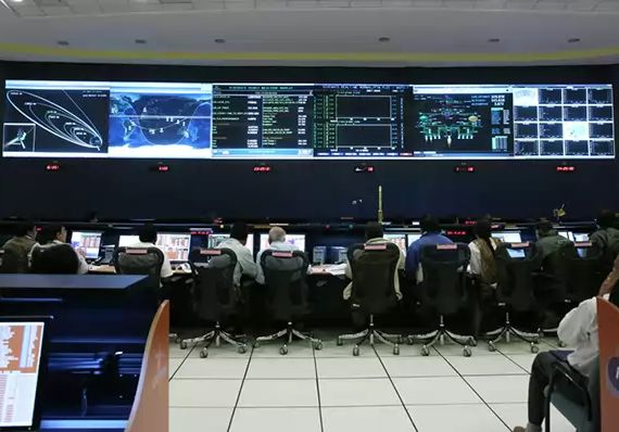 ISRO Mars Mission Control Room