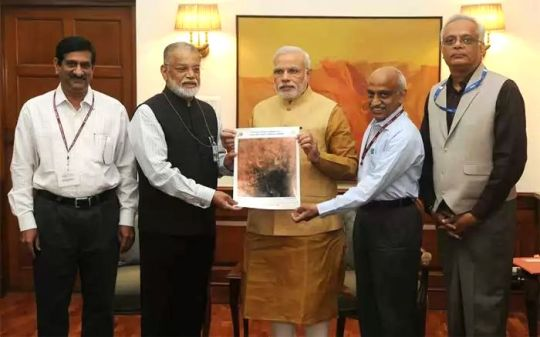 PM gets the first image of Mars