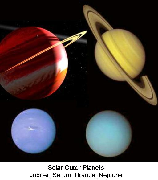Solar Outer Planets