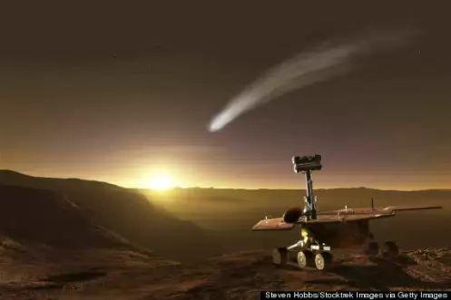 Mars Flyby