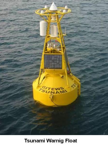 Warning float
