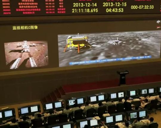 Chinese spacecraft control center