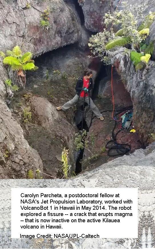 Carolyn Parcheta on the Volcano Vent