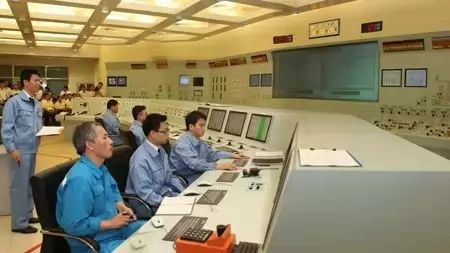 China Fast reactor control room