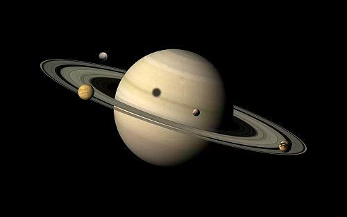 Exoplanet Ring and satellites