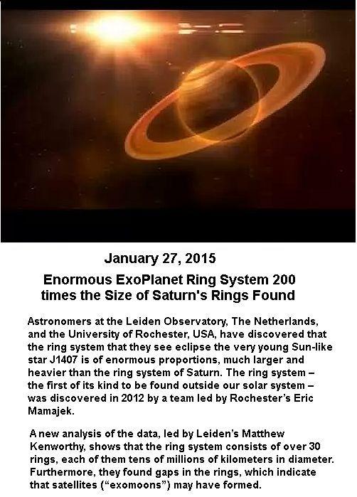 Exoplanet Ring System -1