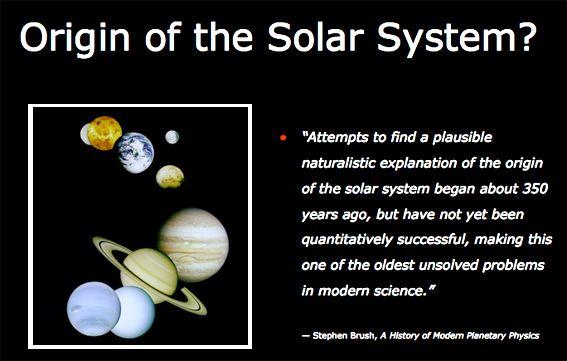 Oigins of Solar System