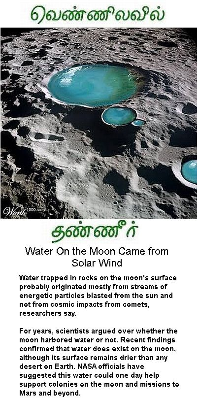 Water on the Moon -1