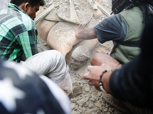 Nepal Earthquake -1