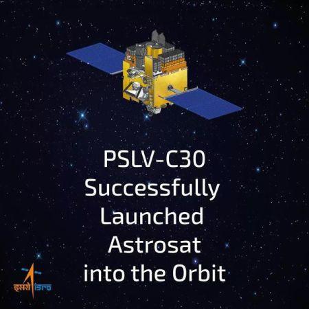 Launch of Astrosat