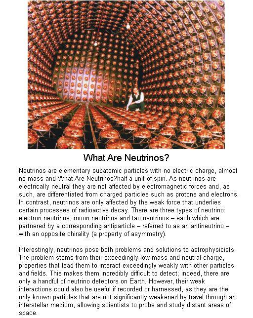 What Are Neutrinos
