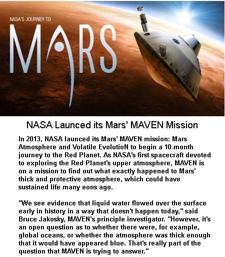 Mar's MAVEN Mission