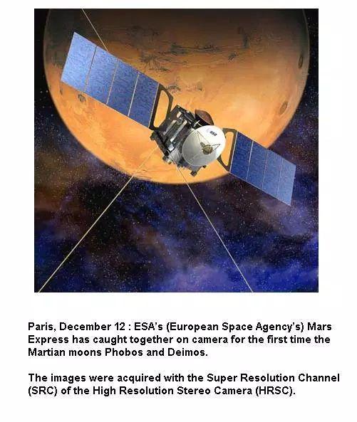 Mars Express Spaceship