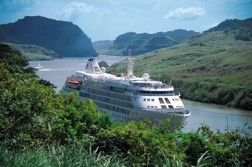 Ship in Panama Canal -1