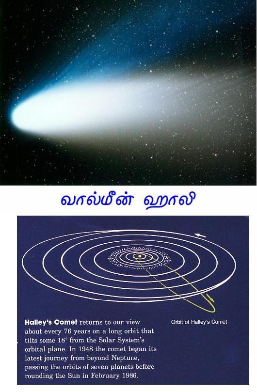 Fig 3 Comet Halley
