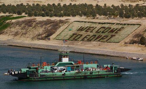 Suez Welcome