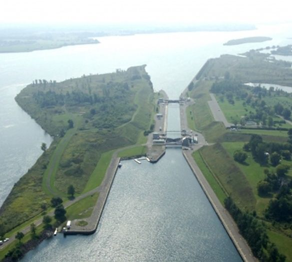 St Lawrence Seaway Locks -1