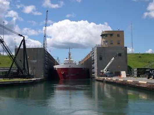 St Lawrence Seaway Locks -4