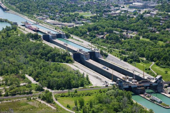 Welland Canal Locks