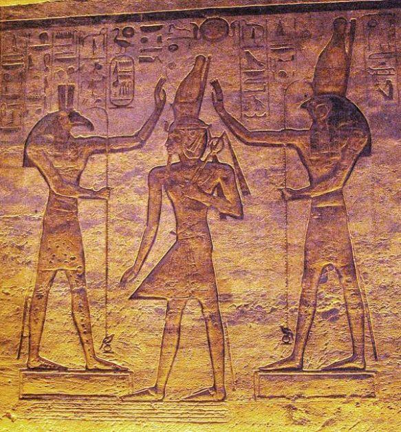 Abu Simble Paintings -3