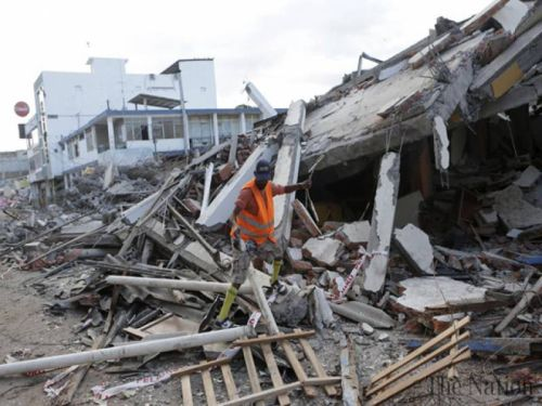 Equador Earthquake -4