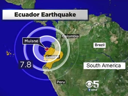 Equador Earthquake