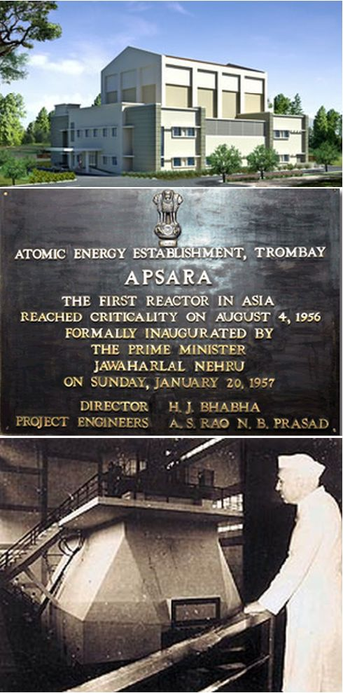 Apsara Research Reactor