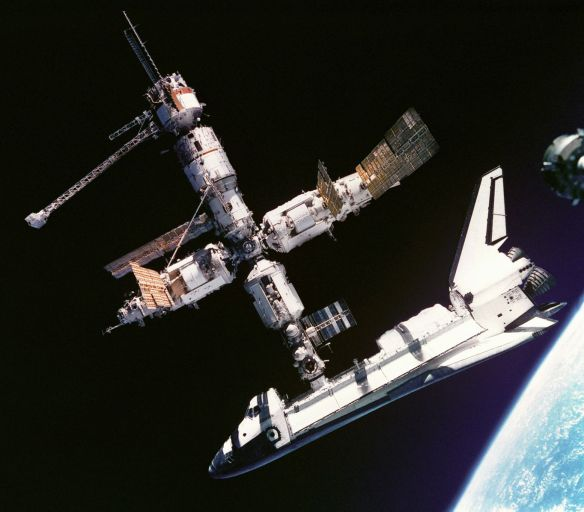 Linking Space Station