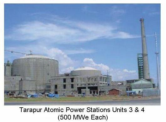 Tarapore candu power units