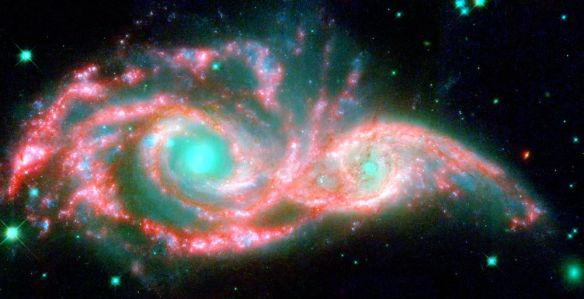 Twin Eye Galaxy