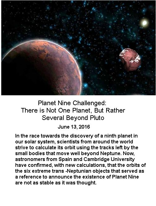 Planet 9 challenged